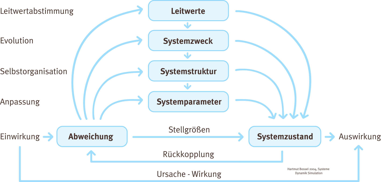 Woraus sich das Systemverhalten komplexer Systeme ergeben kann