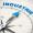 Pfeil von einem Kompass zeigt auf das Wort Industrie 4.0